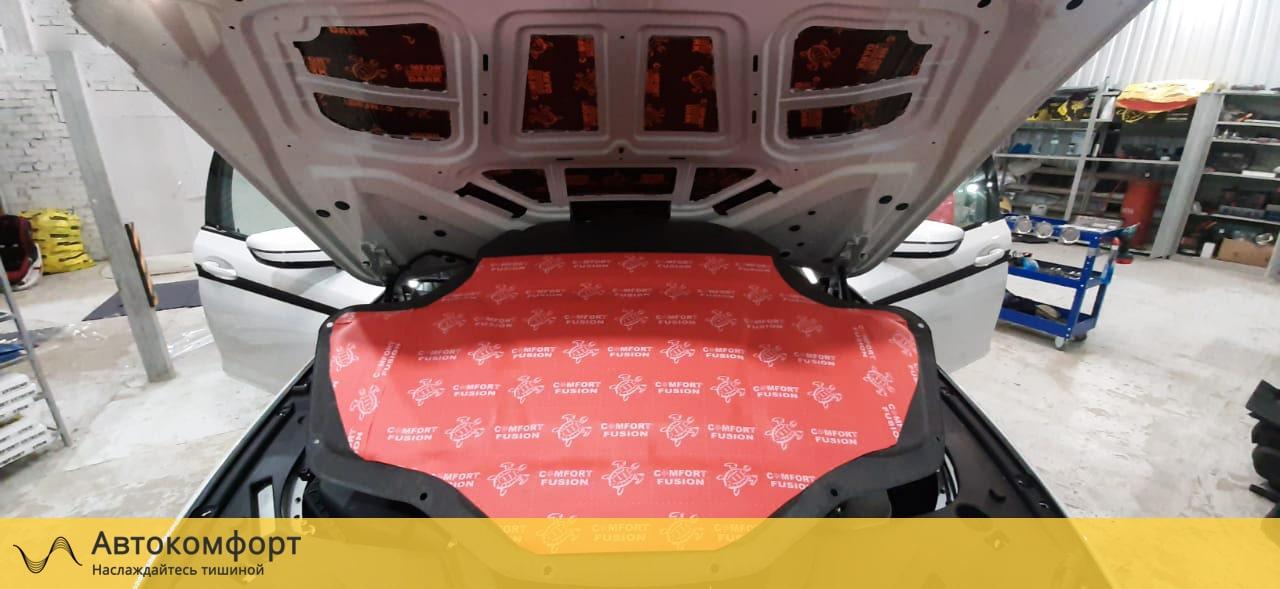 Шумоизоляция капота Toyota Land Cruiser Prado (Прадо 150)