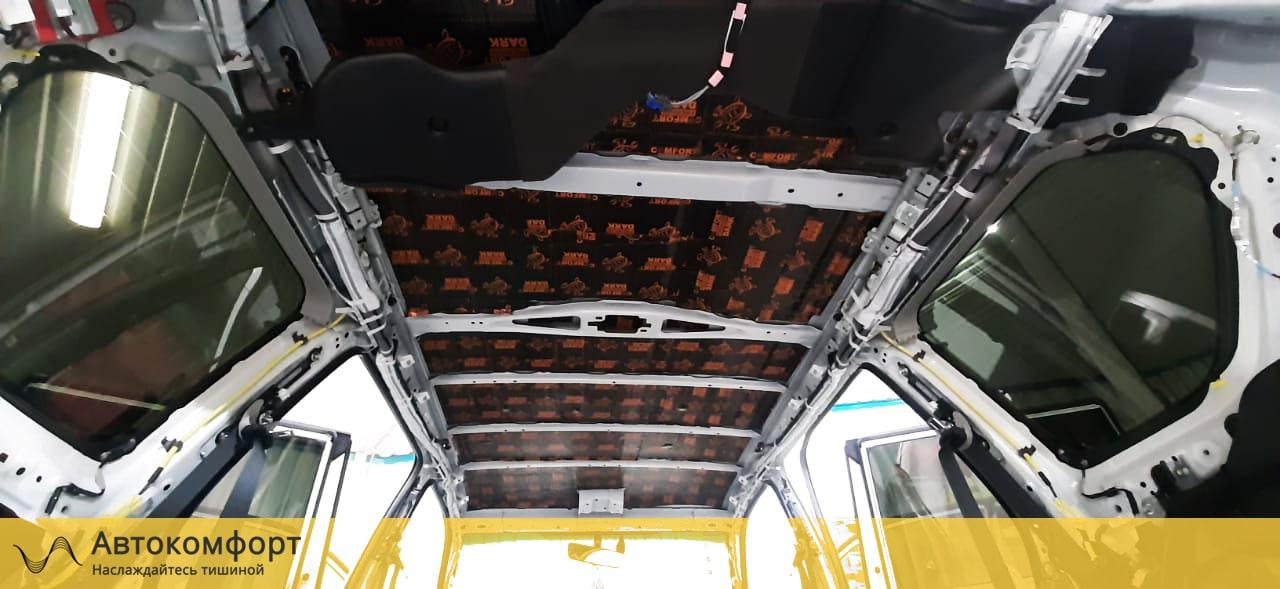 Шумоизоляция крыши Toyota Land Cruiser Prado (Прадо 150)