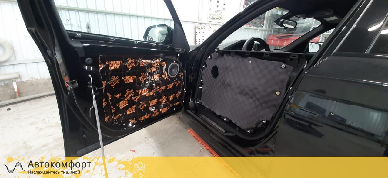 Шумоизоляция дверей BMW 1 series F20 (БМВ 1 серии Ф20)