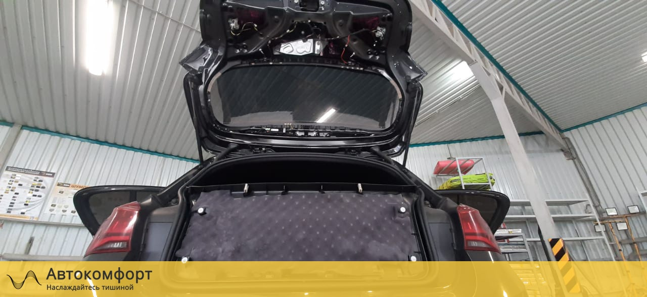 Шумоизоляция багажника BMW 1 series F20 (БМВ 1 серии Ф20)