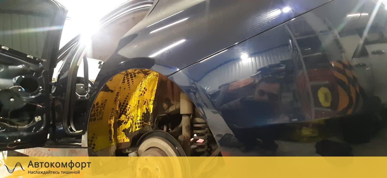 Шумоизоляция арок BMW 3 F30 | F34 GT Gran Tourismo (БМВ Ф30 | 34 ГТ)