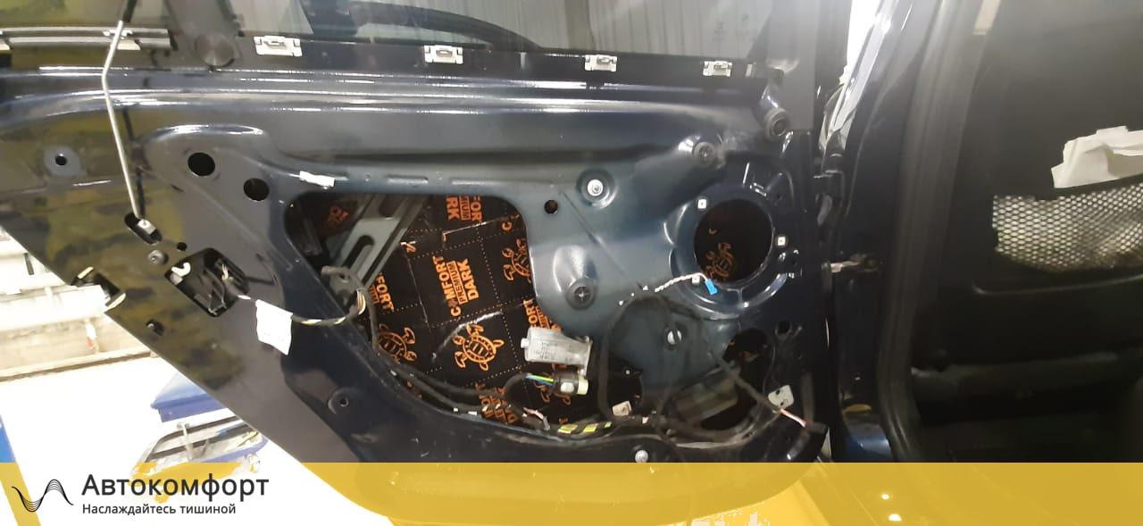 Шумоизоляция дверей BMW 3 F30 | F34 GT Gran Tourismo (БМВ Ф30 | 34 ГТ)