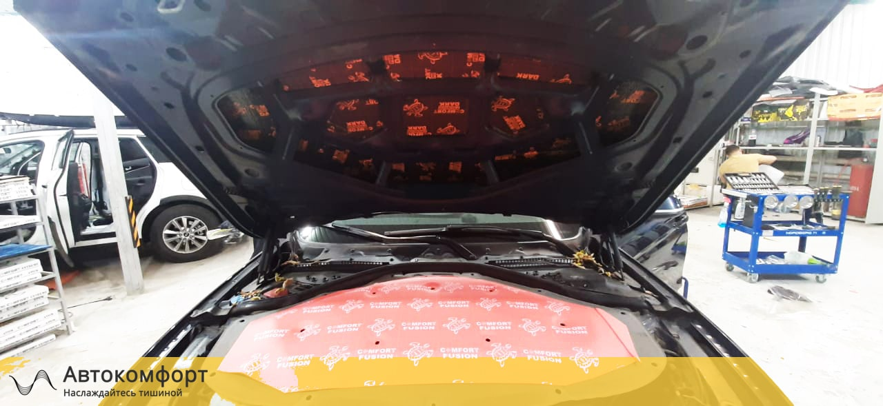 Шумоизоляция капота BMW 3 F30 | F34 GT Gran Tourismo (БМВ Ф30 | 34 ГТ)