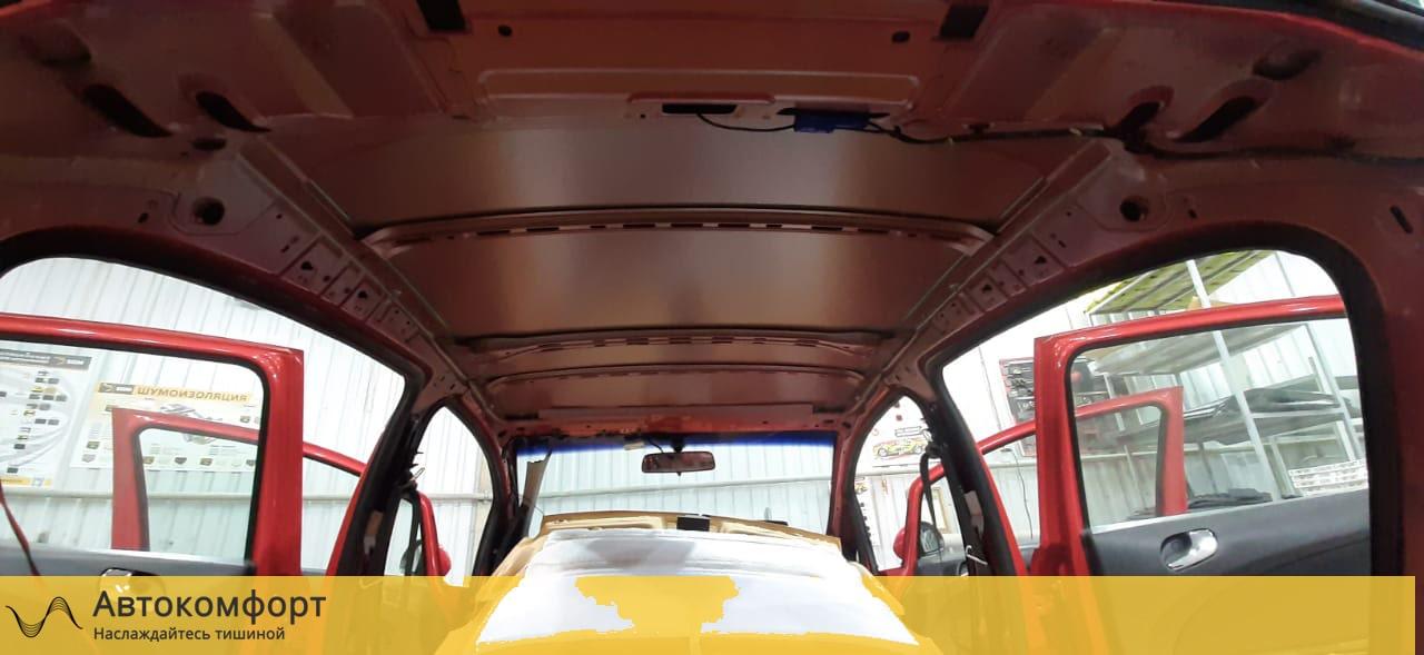 Шумоизоляция крыши (потолка) Opel Corsa E  Опель Корса Е