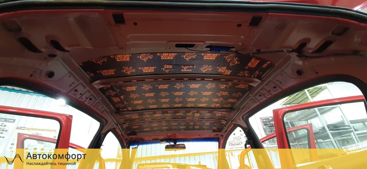 Шумоизоляция крыши (потолка) Opel Corsa E| Опель Корса Е