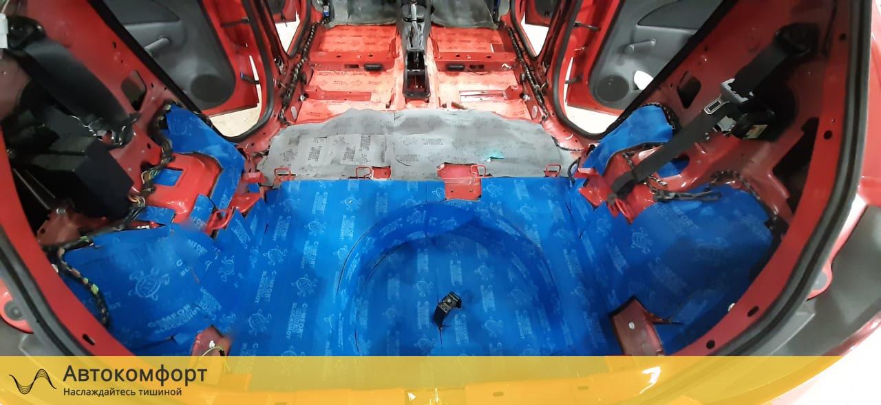 Шумоизоляция багажника Opel Corsa E  Опель Корса Е