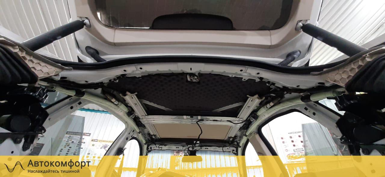 Шумоизоляция крыши (потолка) BMW 4 F36 GT Gran Tourismo | БМВ Ф36 ГТ