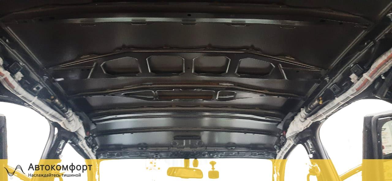 Шумоизоляция крыши (потолка) Lexus NX   Лексус НХ