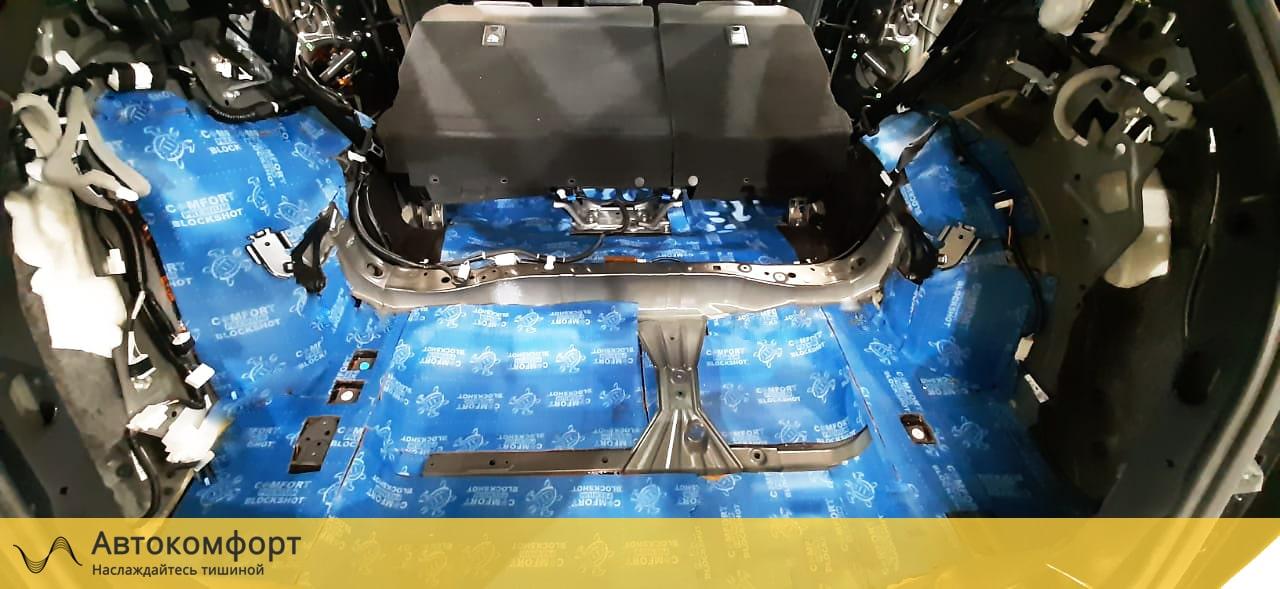 Шумоизоляция багажника Lexus NX   Лексус НХ