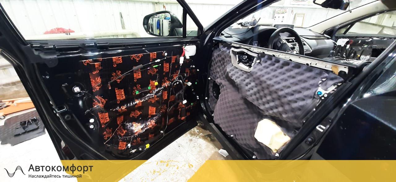 Шумоизоляция дверей Lexus NX | Лексус НХ