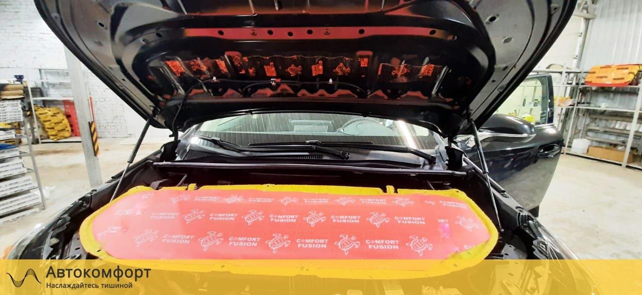 Шумоизоляция капота Lexus NX | Лексус НХ