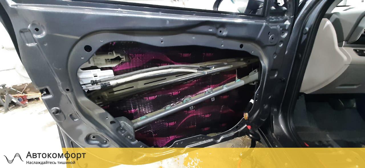 Шумоизоляция дверей Hyundai Elantra 6 AD   Хендай Элантра VI