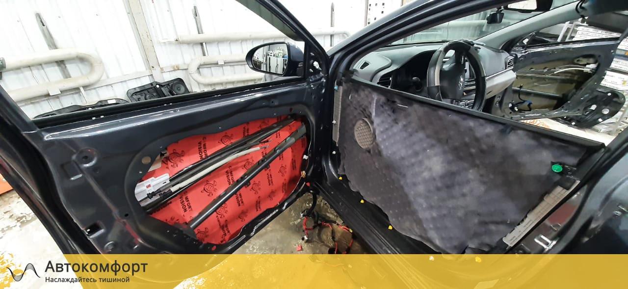 Шумоизоляция дверей Hyundai Elantra 6 AD | Хендай Элантра VI