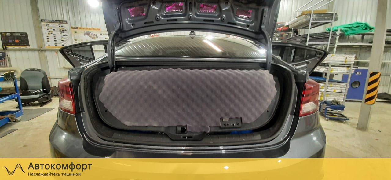 Шумоизоляция крышки багажника Hyundai Elantra 6 AD | Хендай Элантра VI