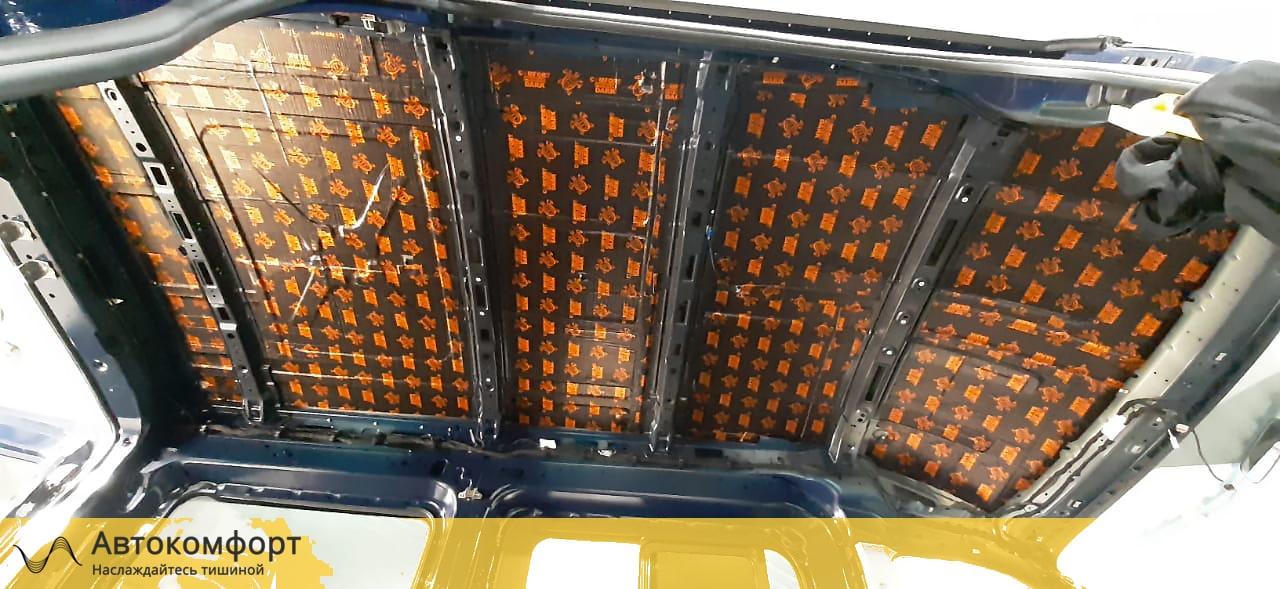 Шумоизоляция крыши (потолка) Ford Transit L2H2   Форд Транзит Л2Н2