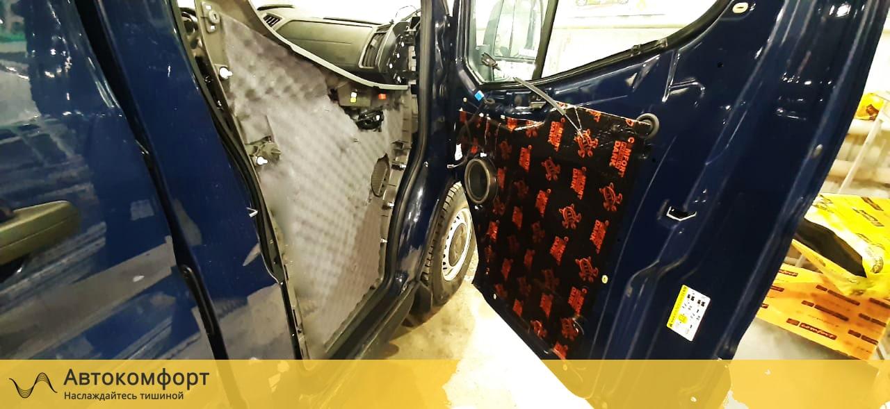 Шумоизоляция салона Ford Transit L2H2 | Форд Транзит Л2Н2