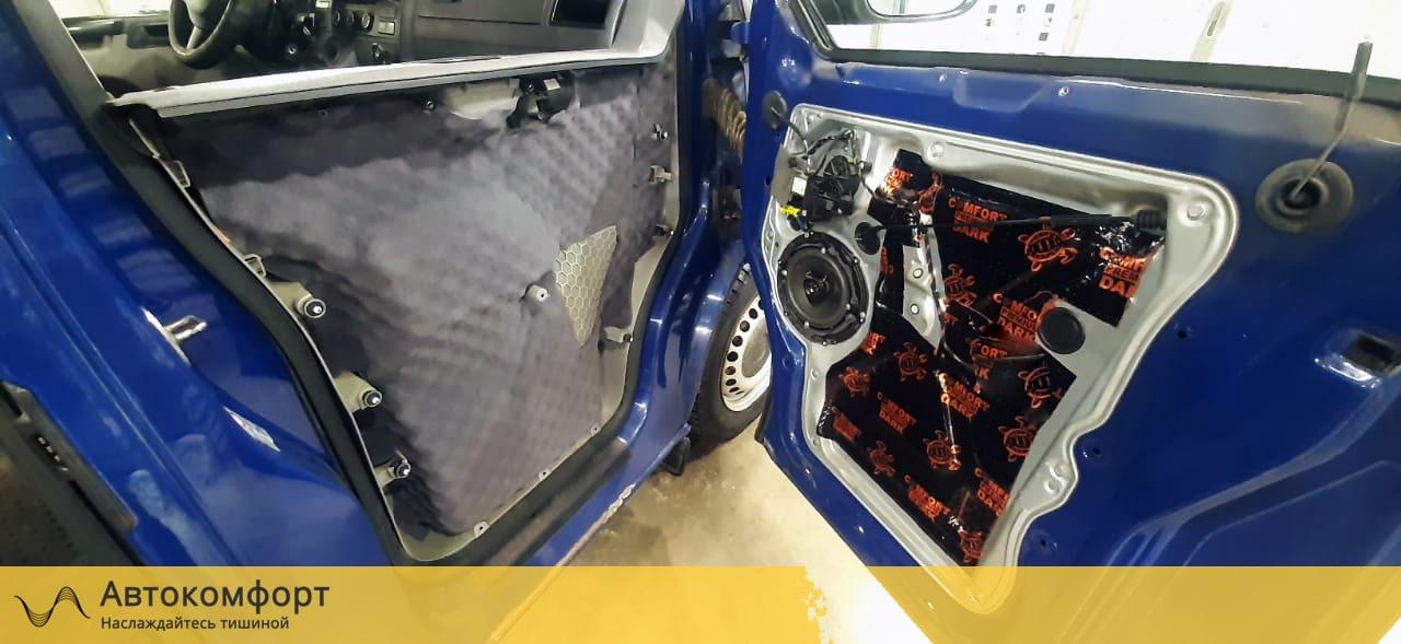 Шумоизоляция дверей Volkswagen Transporter T5 | T6.1 | Транспортер Т5 и 6