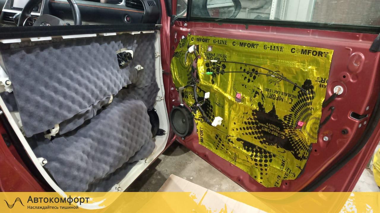 Шумоизоляция дверей Toyota Sienta 2 | Тойота Сиента II