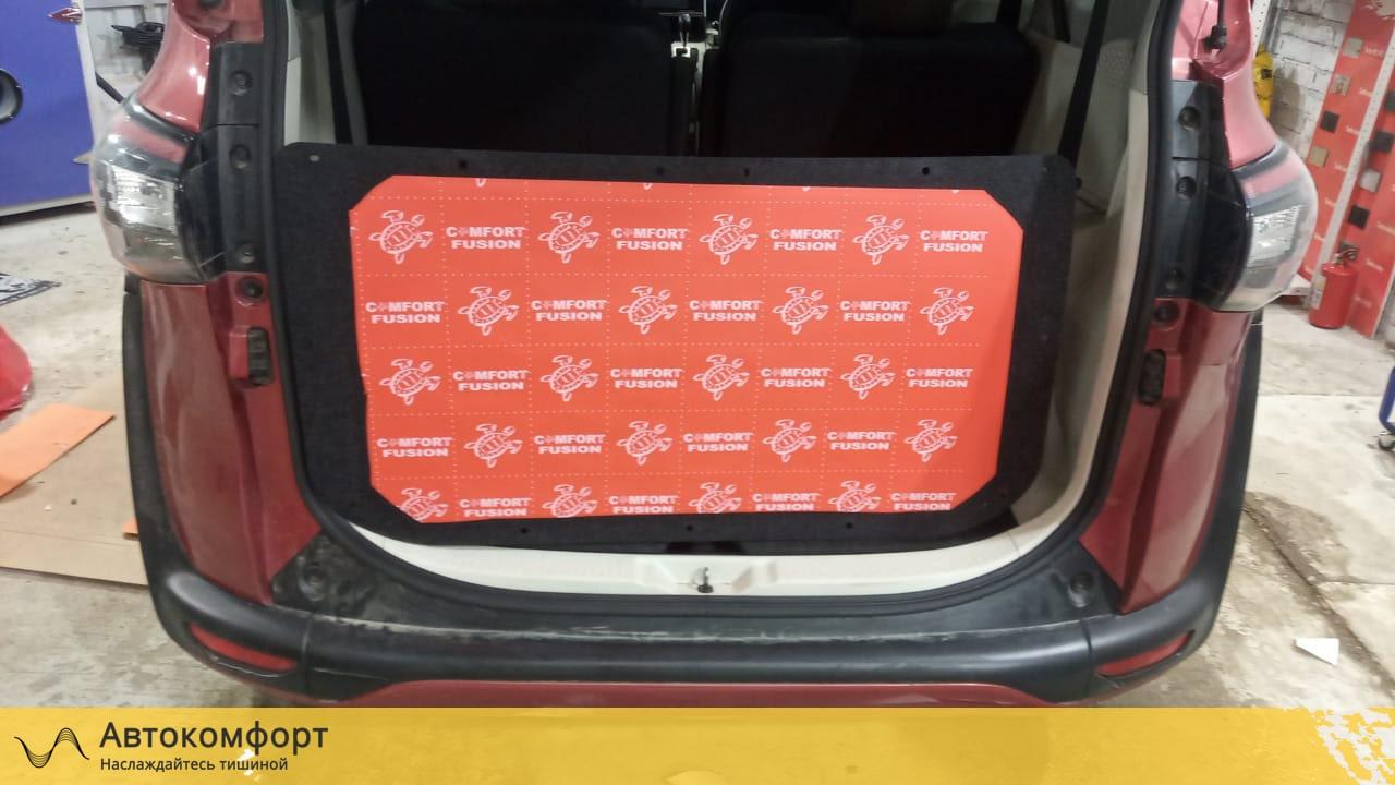 Шумоизоляция багажника Toyota Sienta 2   Тойота Сиента II