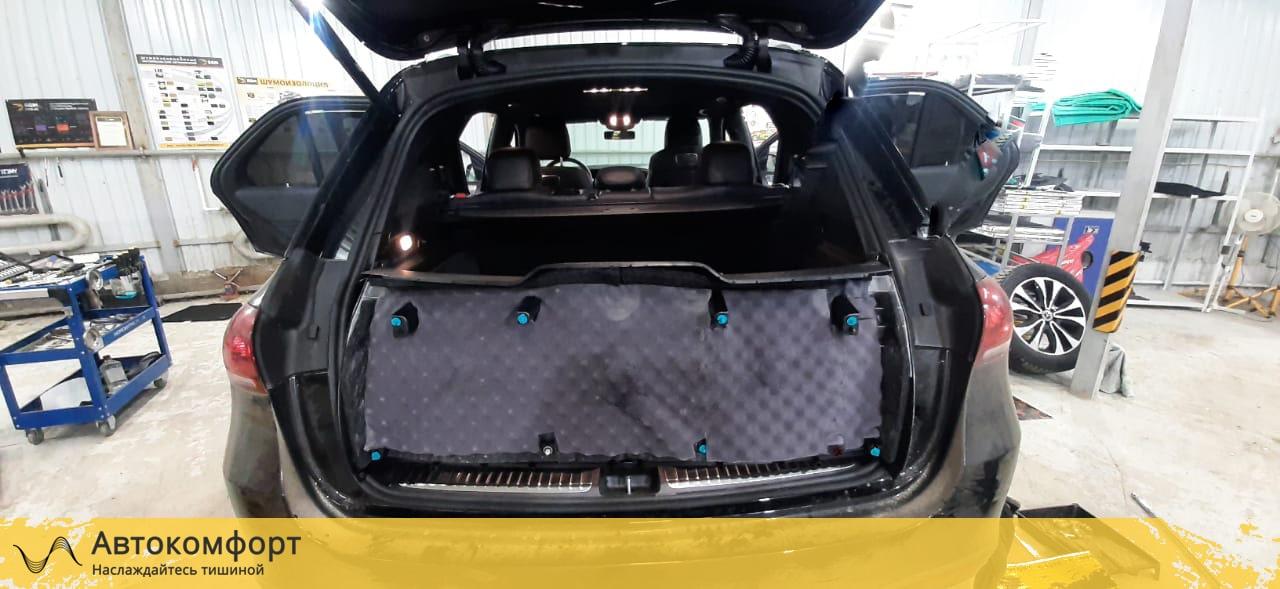 Шумоизоляция багажника Mercedes GLE V167 | Мерседес ГЛЕ W167