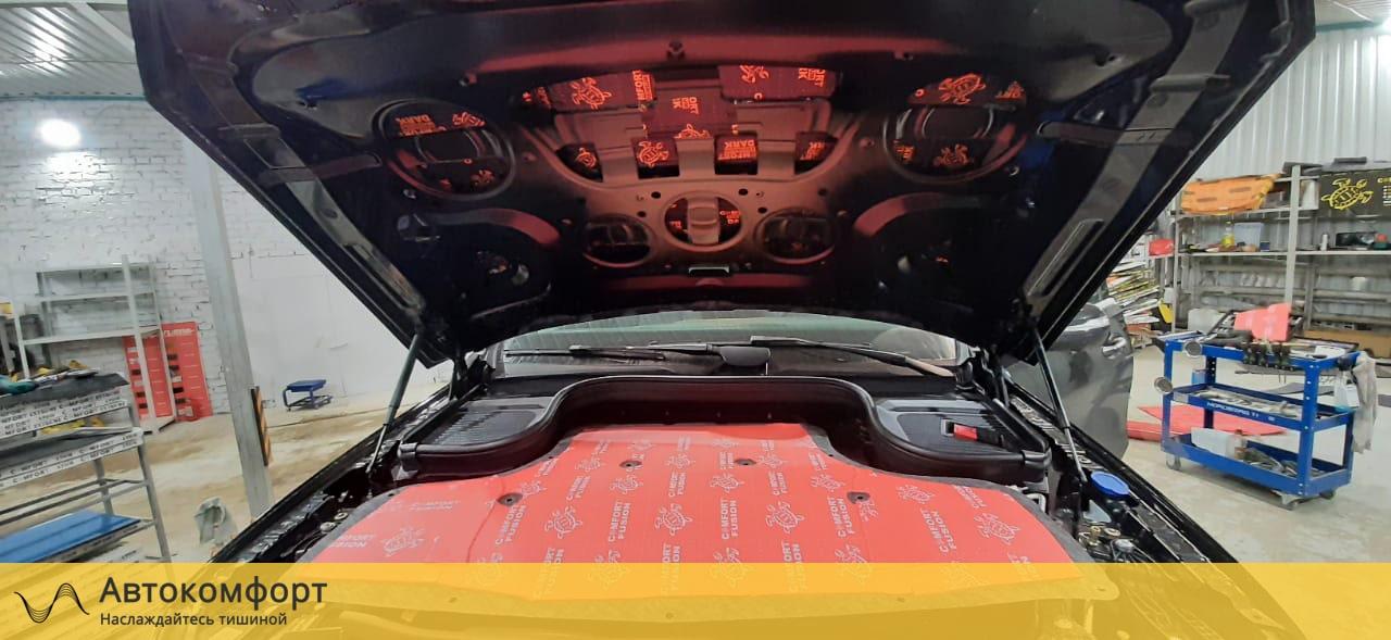 Шумоизоляция капота Mercedes GLE V167 | Мерседес ГЛЕ W167