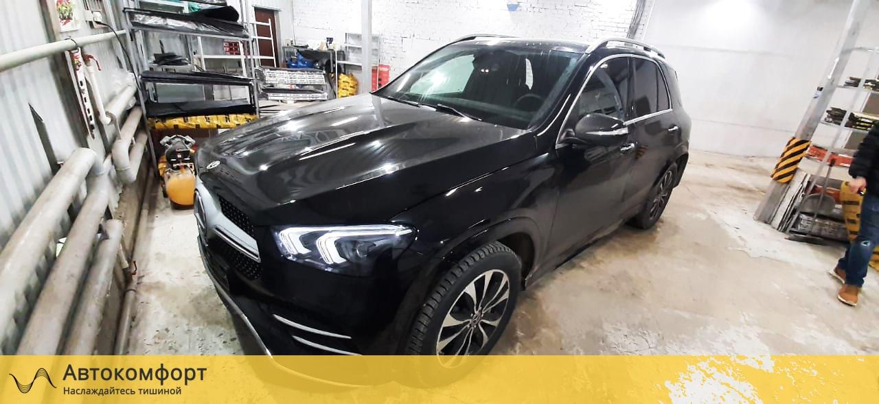 Шумоизоляция Mercedes GLE V167 | Мерседес ГЛЕ W167