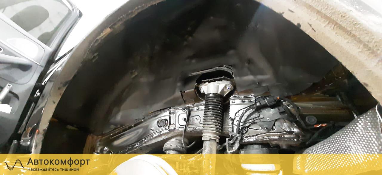 Шумоизоляция арок и подкрылок (локеров) Mercedes GLE V167 | Мерседес ГЛЕ W167