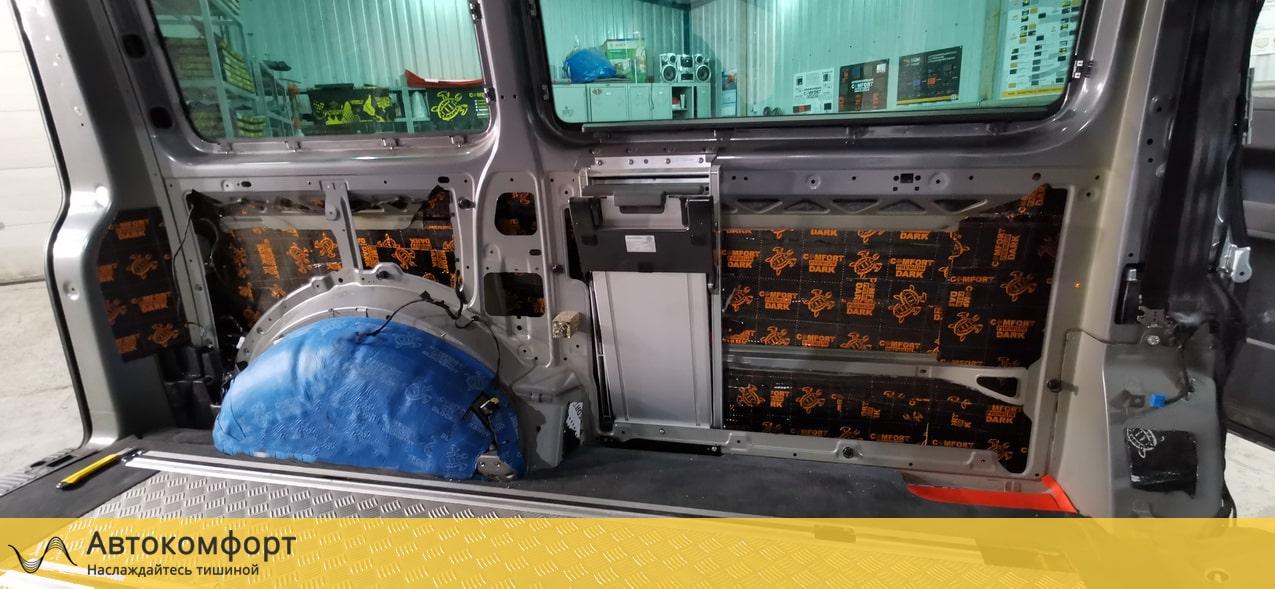 Шумоизоляция салона Volkswagen Multivan T5 и T6.1