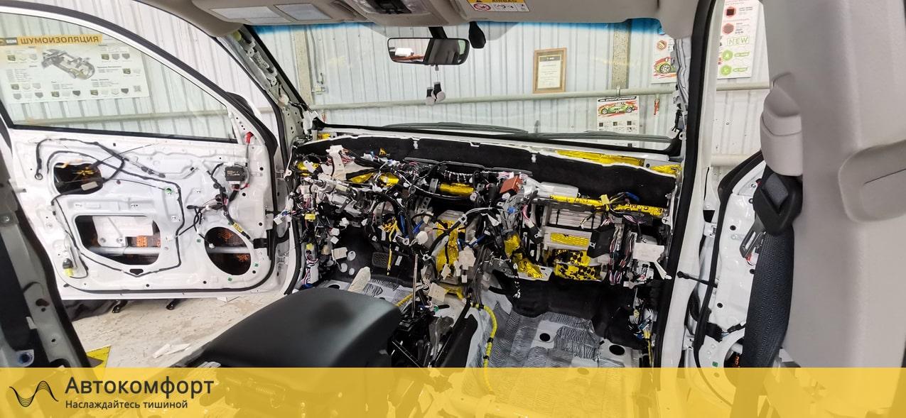 Шумоизоляция моторного щита Toyota Land Cruiser Prado (Прадо 150)