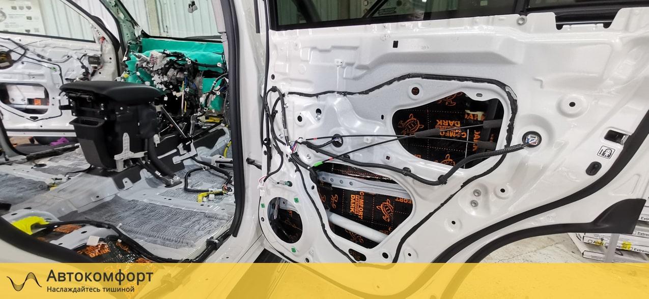 Шумоизоляция дверей Toyota Land Cruiser Prado (Прадо 150)