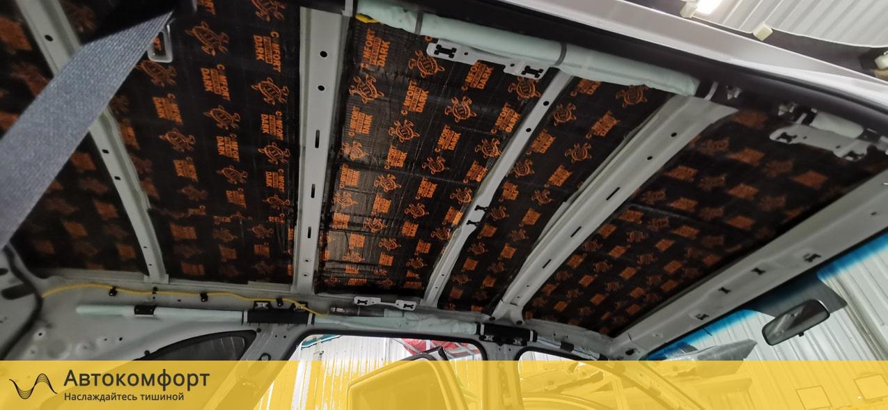Шумоизоляция крыши Kia Sorento 2 (КИА Соренто)