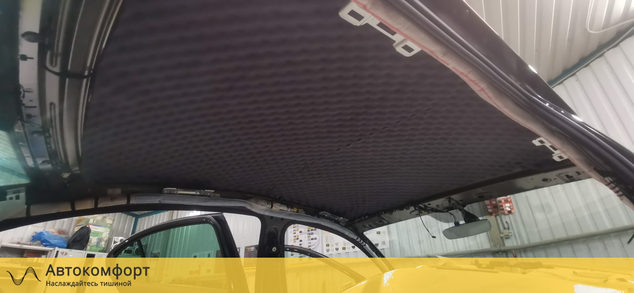 Шумоизоляция крыши (потолка) Volkswagen Passat B8 (Фольксваген Пассат Б8)