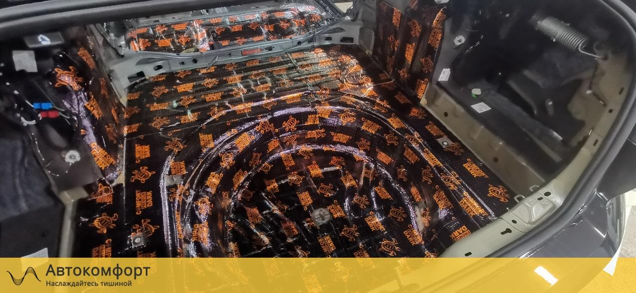 Шумоизоляция багажника Volkswagen Passat B8 (Фольксваген Пассат Б8)