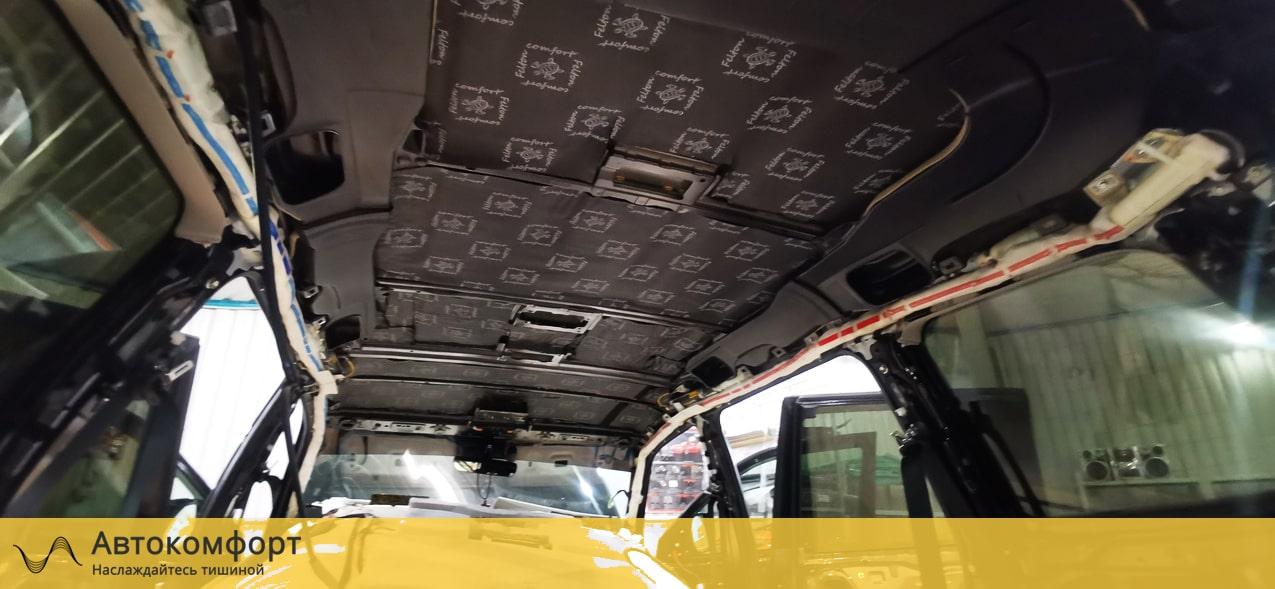 Шумоизоляция крыши (потолка) Lexus LX570 (Лексус ЛХ)