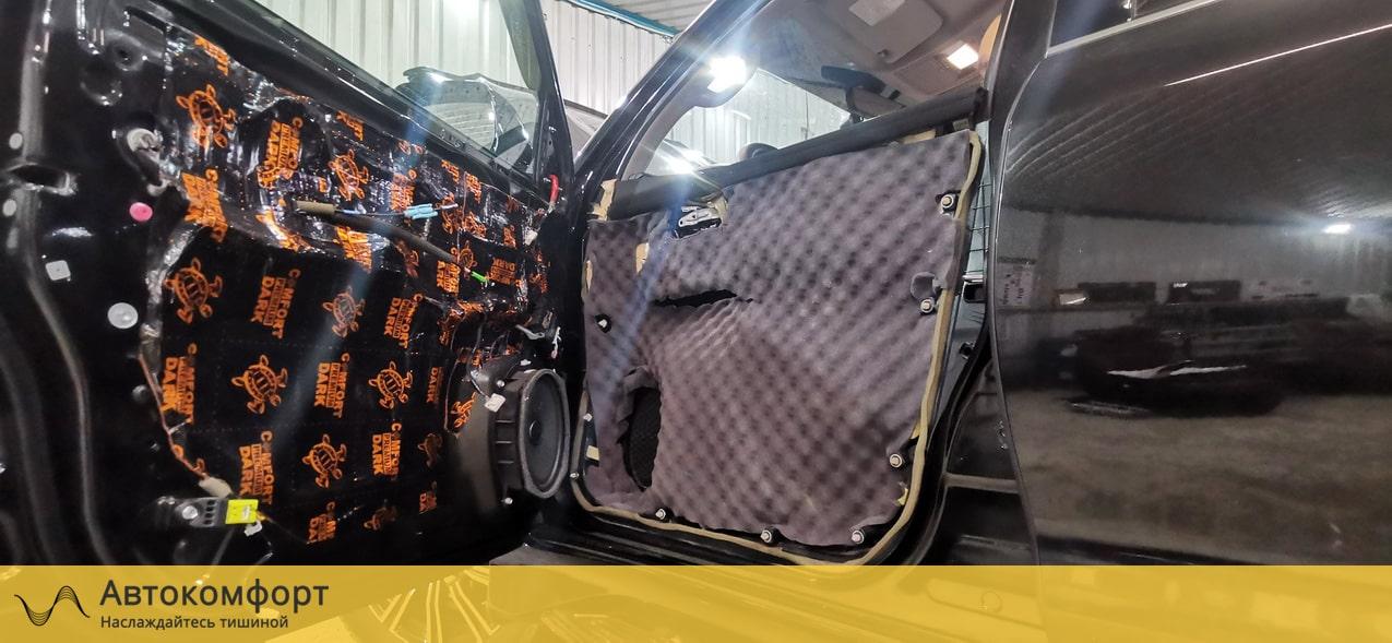 Шумоизоляция дверей Lexus LX570 (Лексус ЛХ)
