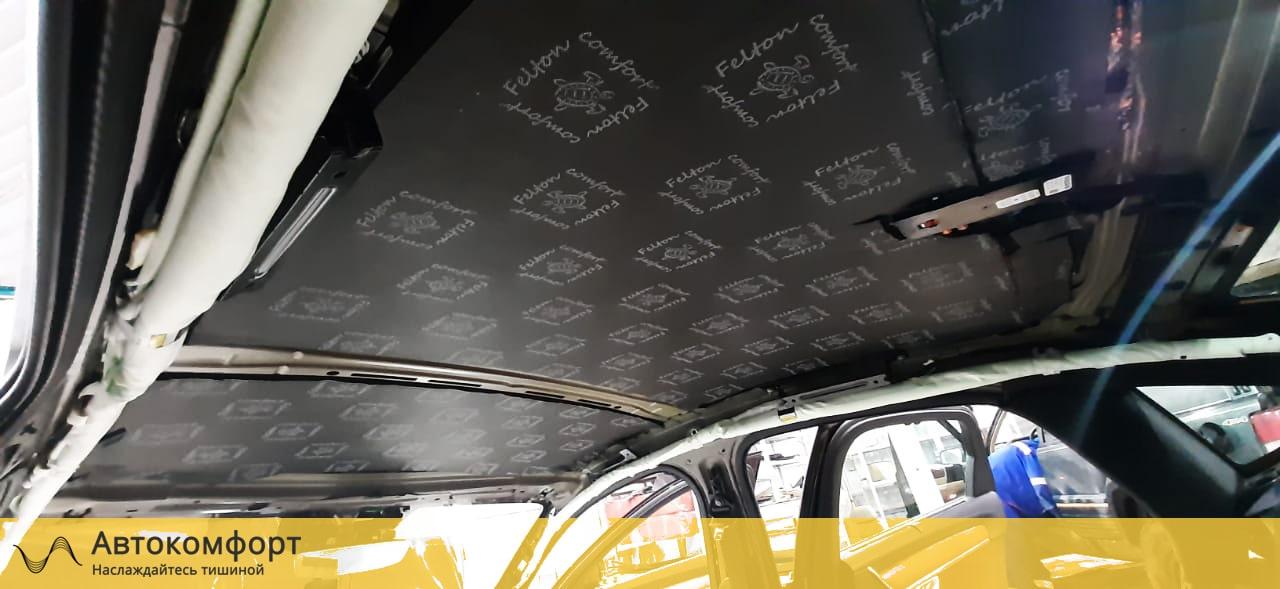 Шумоизоляция потолка Volvo S90